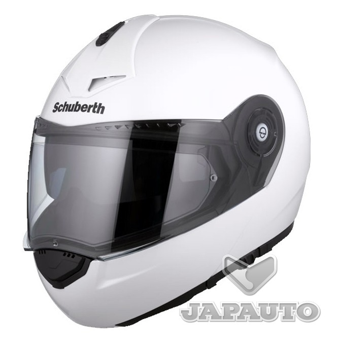 casque modulable schuberth c3 pro blanc japauto accessoires equipement pilote pour moto et. Black Bedroom Furniture Sets. Home Design Ideas