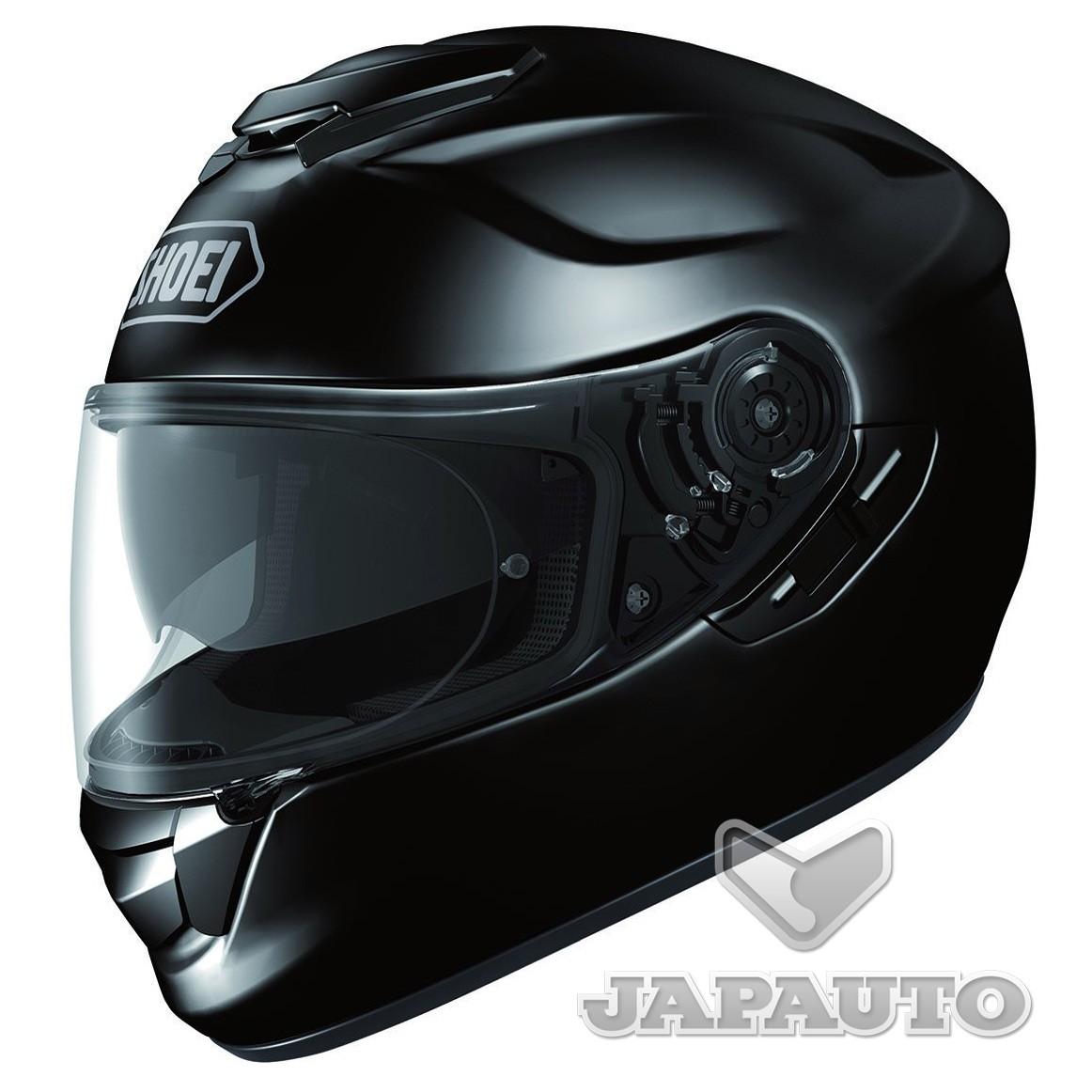 casque int gral shoei gt air noir japauto accessoires equipement pilote pour moto et scooter. Black Bedroom Furniture Sets. Home Design Ideas
