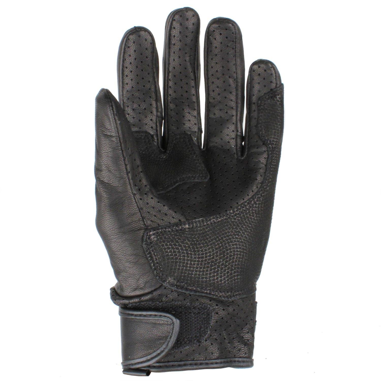 gants cuir racer hole noir japauto accessoires equipement pilote pour moto et scooter. Black Bedroom Furniture Sets. Home Design Ideas