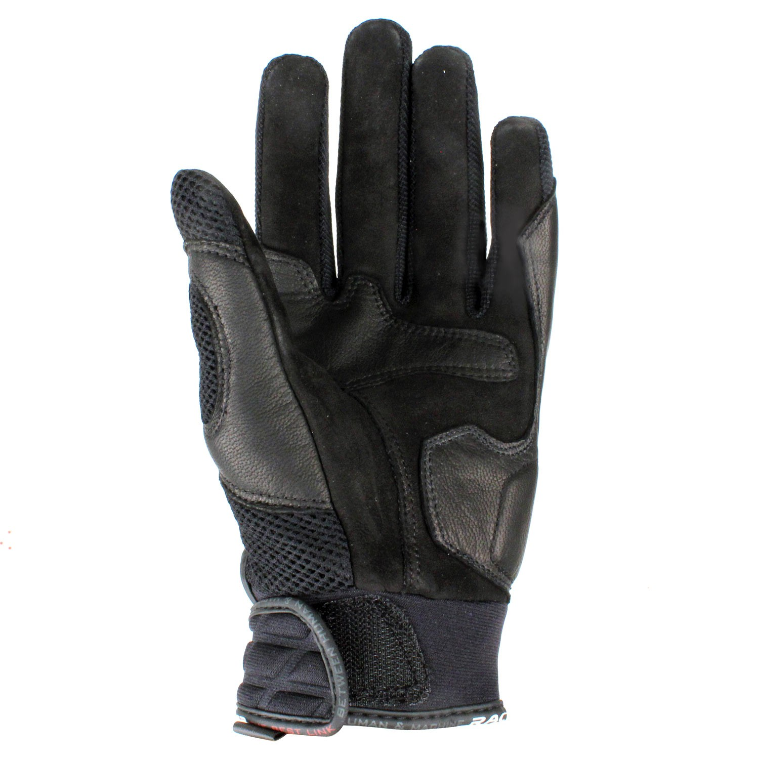 gants cuir racer lighter noir japauto accessoires equipement pilote pour moto et scooter. Black Bedroom Furniture Sets. Home Design Ideas