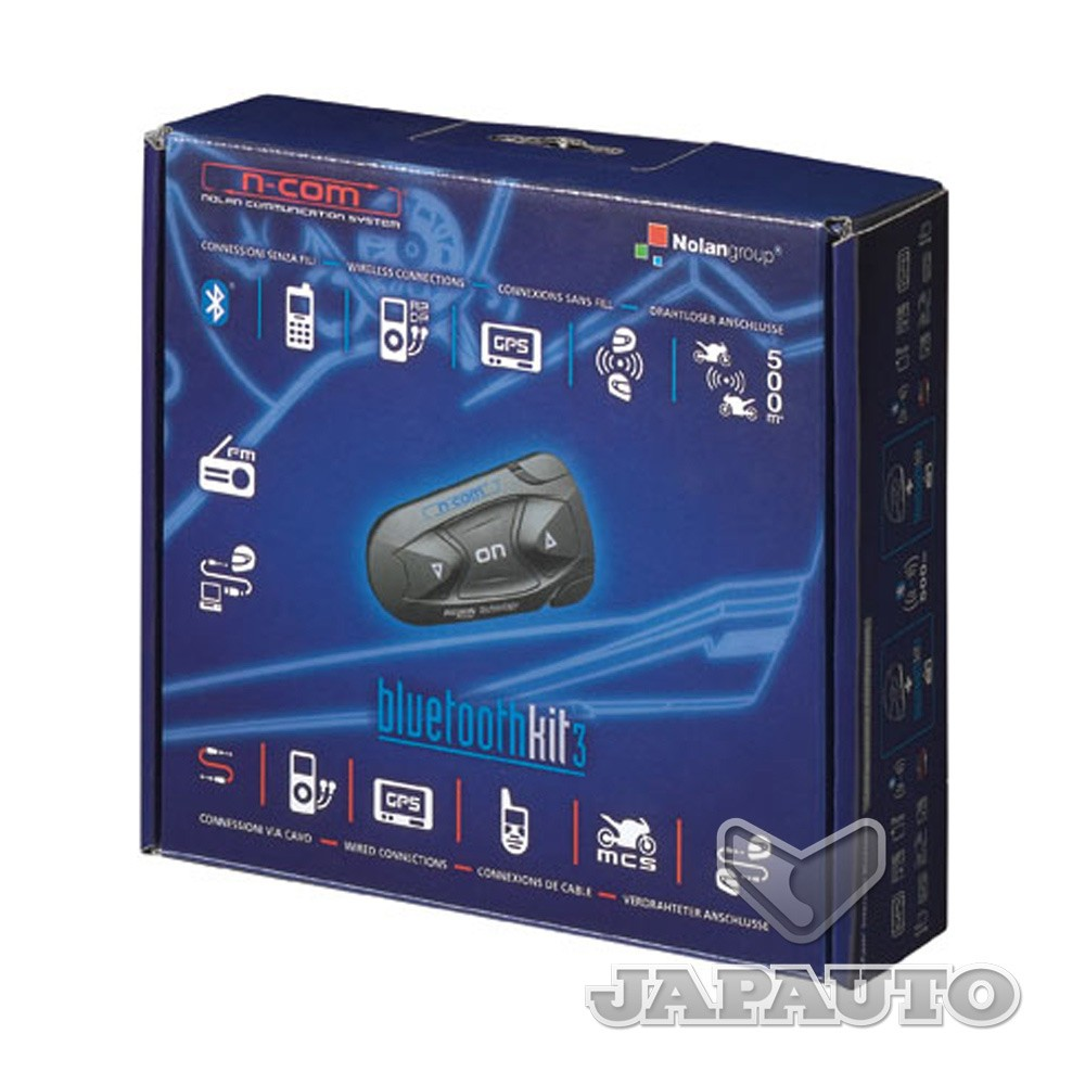kit mains libres nolan bluetoothkit3 japauto accessoires. Black Bedroom Furniture Sets. Home Design Ideas