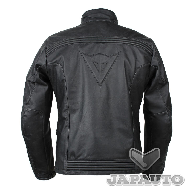 veste cuir dainese maverick nero japauto accessoires equipement pilote pour moto et scooter. Black Bedroom Furniture Sets. Home Design Ideas