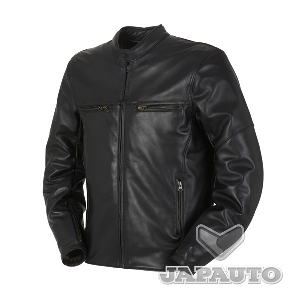 blouson cuir furygan steed noir japauto accessoires equipement pilote pour moto et scooter. Black Bedroom Furniture Sets. Home Design Ideas