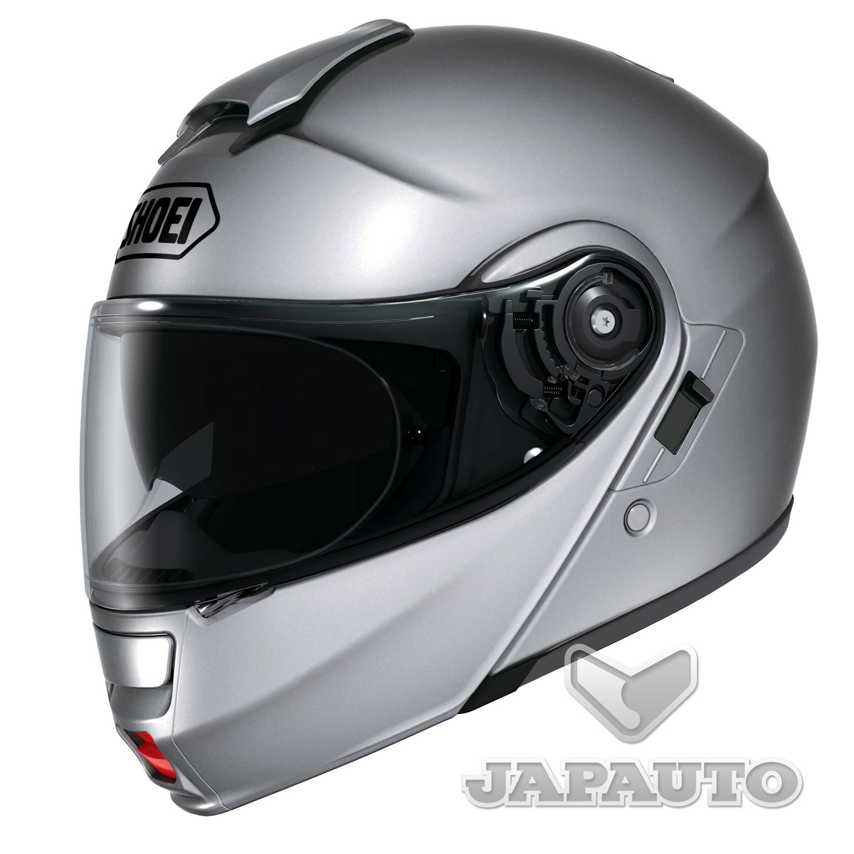 casque modulable shoei neotec gris argent japauto accessoires equipement pilote pour moto et. Black Bedroom Furniture Sets. Home Design Ideas