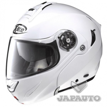 casque modulable x lite x1003 blanc japauto accessoires equipement pilote pour moto et scooter. Black Bedroom Furniture Sets. Home Design Ideas