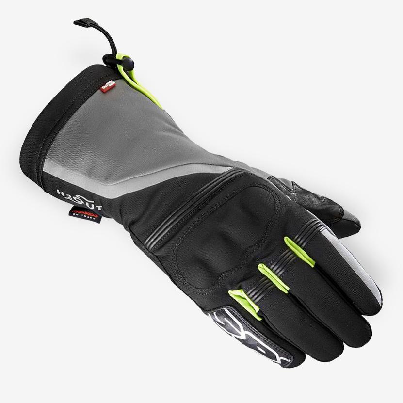 gants moto hiver nk5 spidi noir japauto accessoires equipement pilote pour moto et scooter. Black Bedroom Furniture Sets. Home Design Ideas