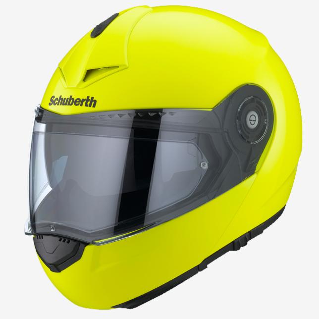 casque modulable schuberth c3 pro jaune fluo japauto accessoires equipement pilote pour moto. Black Bedroom Furniture Sets. Home Design Ideas