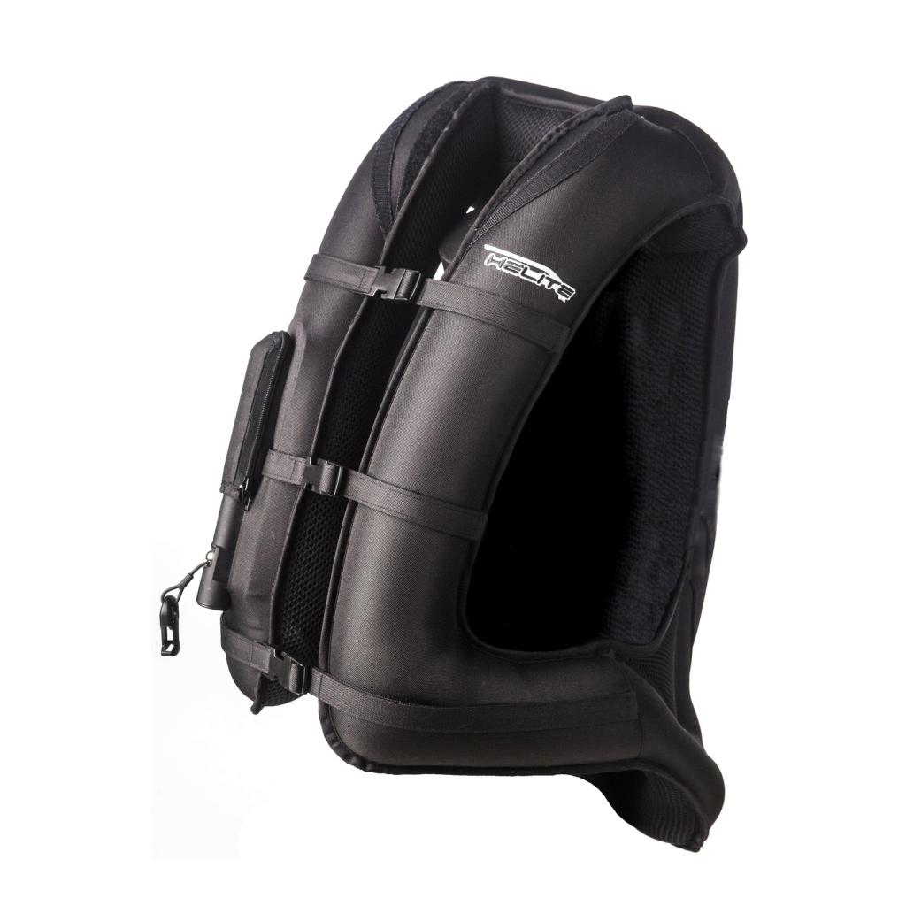gilet airbag noir unisexe japauto accessoires equipement pilote pour moto et scooter. Black Bedroom Furniture Sets. Home Design Ideas