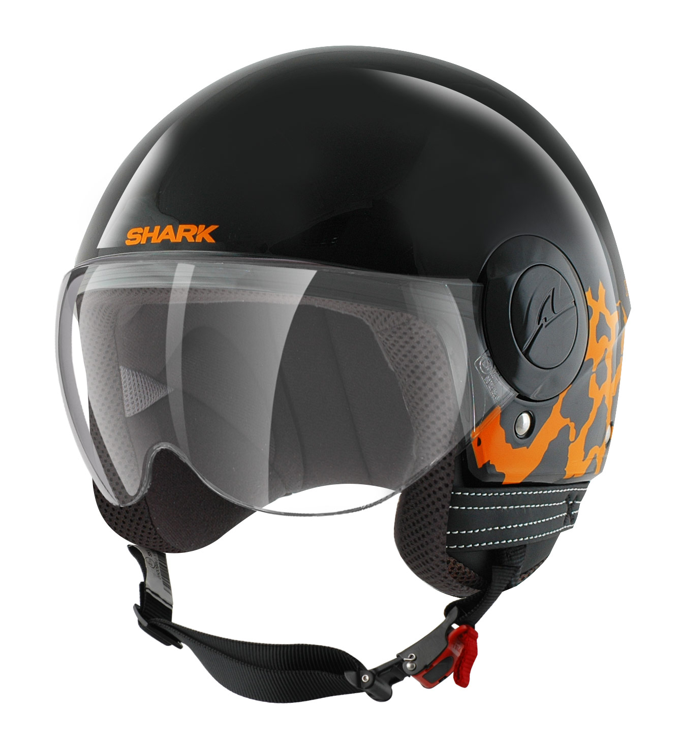 casque shark sk chilka blanc noir japauto accessoires equipement pilote pour moto et scooter. Black Bedroom Furniture Sets. Home Design Ideas