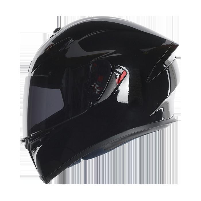 casque agv k 5 solid noir casque int gral quipement pilote japauto accessoires. Black Bedroom Furniture Sets. Home Design Ideas