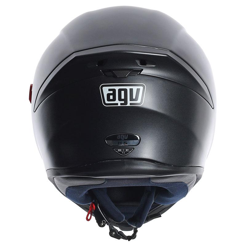 casque agv k 5 solid noir mat casque int gral quipement pilote japauto accessoires. Black Bedroom Furniture Sets. Home Design Ideas