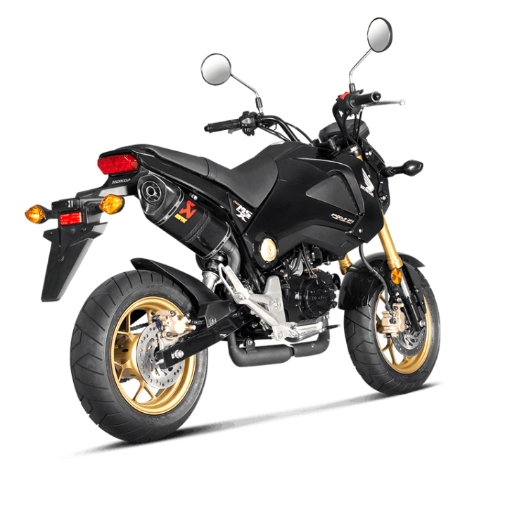 silencieux akrapovic honda msx 125 equipement 2 roues echappement. Black Bedroom Furniture Sets. Home Design Ideas