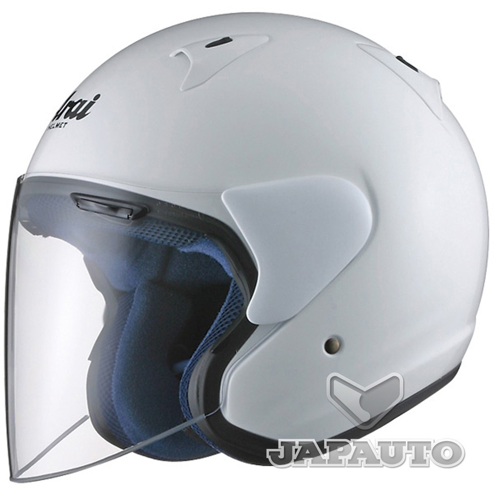 casque jet arai sz f blanc japauto accessoires equipement pilote pour moto et scooter. Black Bedroom Furniture Sets. Home Design Ideas