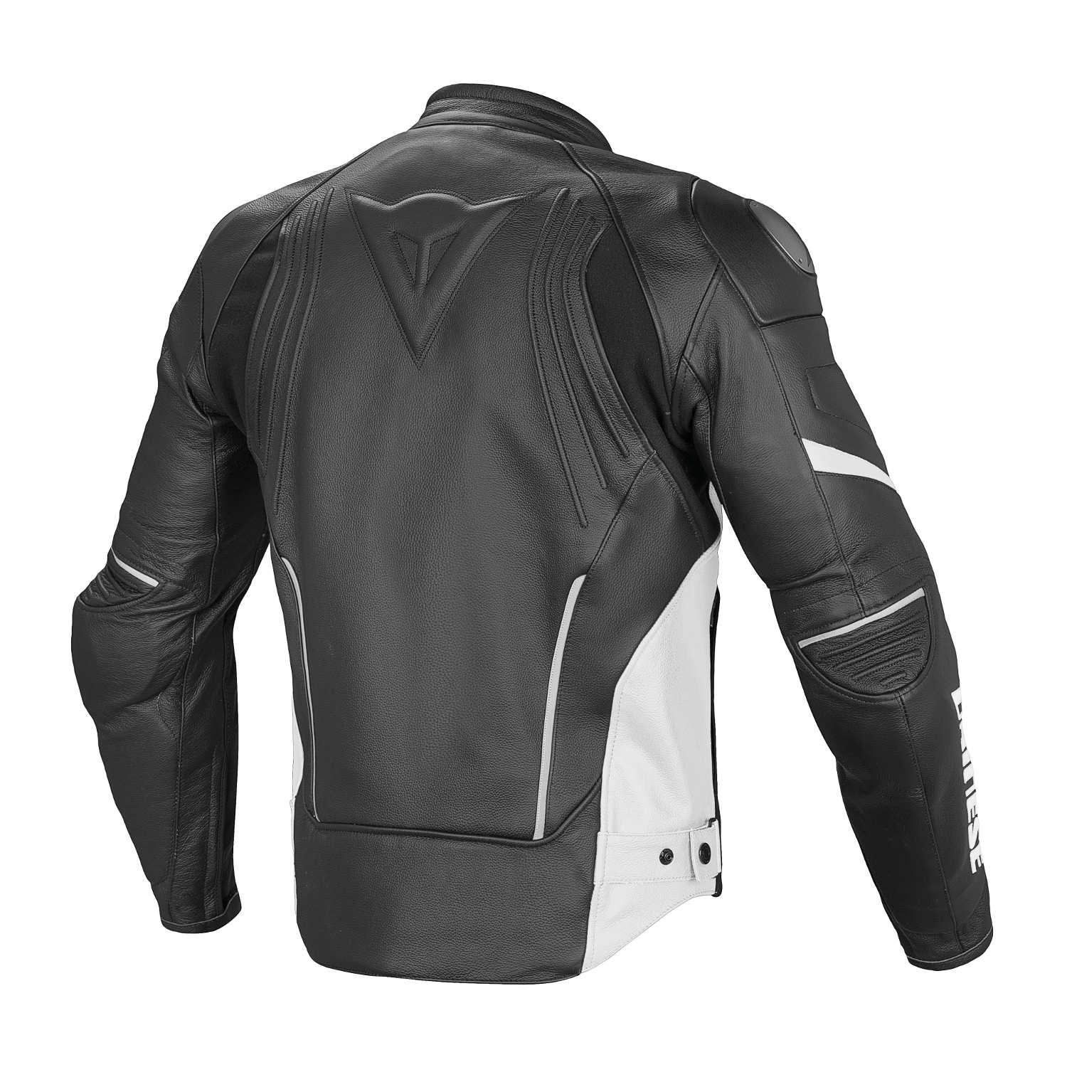 blouson dainese racing d1 pelle noir noir blanc blouson et veste cuir blouson et veste moto. Black Bedroom Furniture Sets. Home Design Ideas