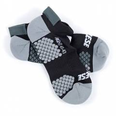 Chaussettes D-CORE FOOTIE SOCK Black/Anthracite