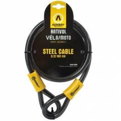 Cable antivol Auvray C18012 D.12 180cm
