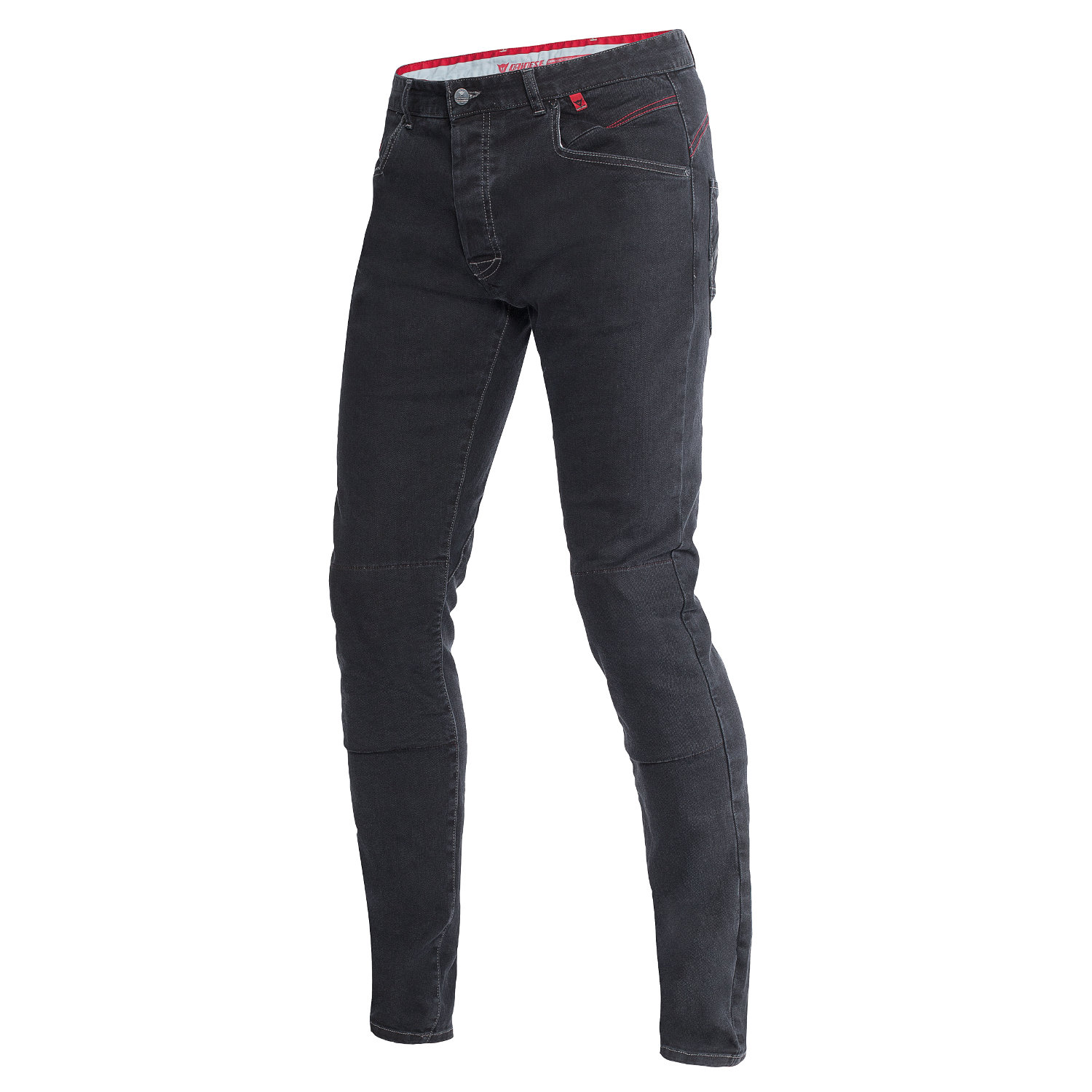 jeans sunville skinny noir dainese pantalon moto homme japauto accessoires. Black Bedroom Furniture Sets. Home Design Ideas