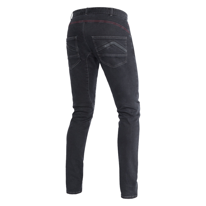 jeans sunville skinny noir dainese pantalon moto homme japauto accessoires. Black Bedroom Furniture Sets. Home Design Ideas