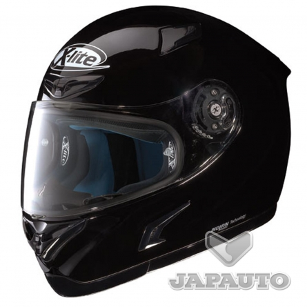 casque int gral x lite x802 noir japauto accessoires equipement pilote pour moto et scooter. Black Bedroom Furniture Sets. Home Design Ideas