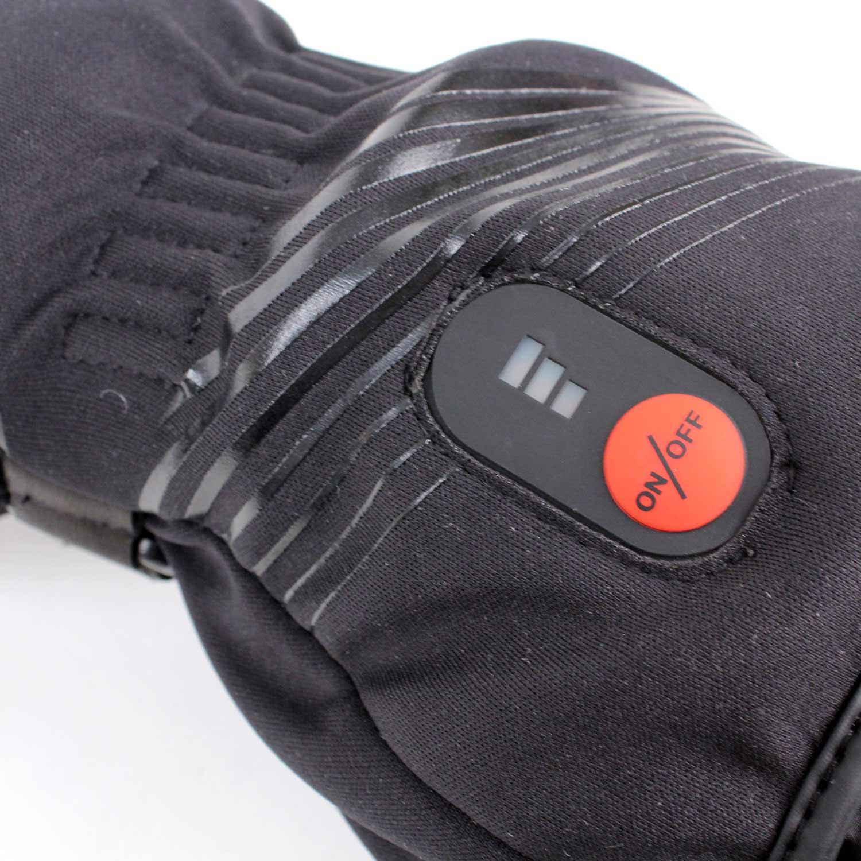 gants chauffants racer connectic gants moto hiver japauto accessoires. Black Bedroom Furniture Sets. Home Design Ideas
