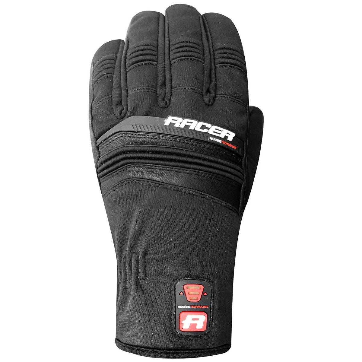 gants chauffants racer connectic short gants moto hiver japauto accessoires. Black Bedroom Furniture Sets. Home Design Ideas