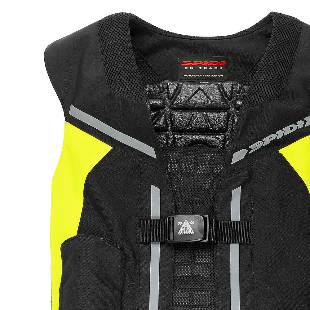 gilet spidi full dps neck jaune gilet airbag spidi japauto accessoires. Black Bedroom Furniture Sets. Home Design Ideas