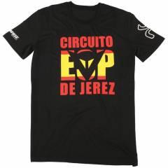 T-shirt Dainese JEREZ D1 Noir