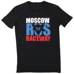 T-shirt Dainese MOSCOW D1 Noir