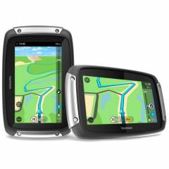 GPS Tomtom Rider 410 World en mode paysage et portrait