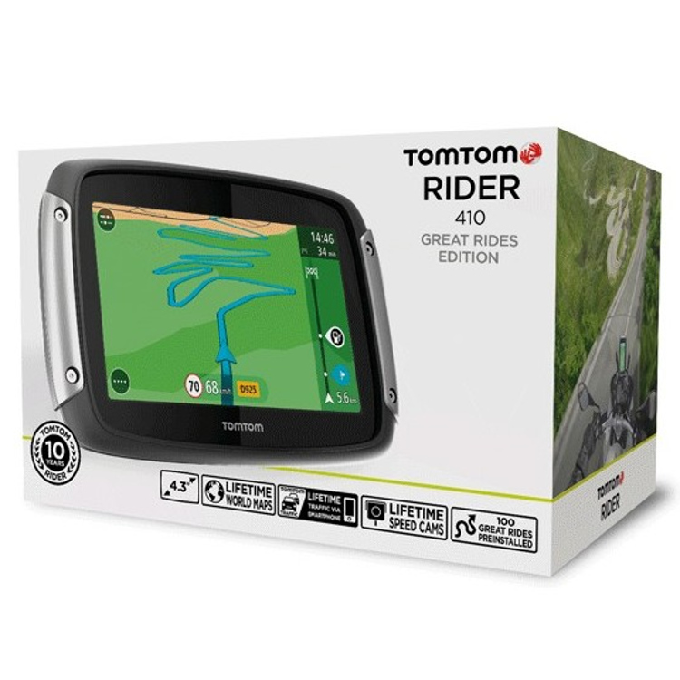 tomtom rider 410 world gps moto et scooter japauto accessoires. Black Bedroom Furniture Sets. Home Design Ideas