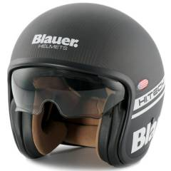 Casque Blauer PILOT Carbone de face