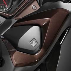 Habillage de guidon Honda Forza 125 Marron