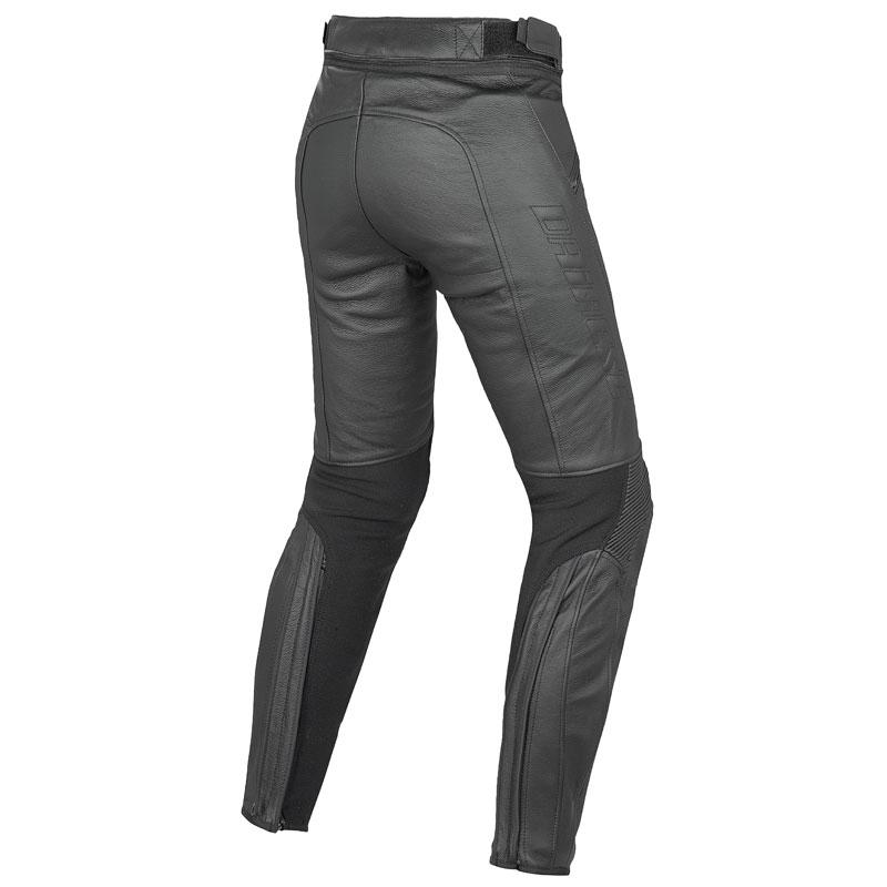 dainese pony c2 pelle lady noir pantalon moto femme japauto. Black Bedroom Furniture Sets. Home Design Ideas