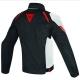 Veste Dainese LAGUNA SECA D1 D-Dry noir-blanc-rouge de dos