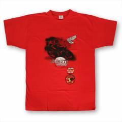 T-shirt JAPAUTO 1972 50ème Anniversaire Rouge