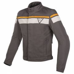 Veste Dainese Blackjack DDry marron face