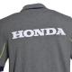 Logo dans le dos du Polo Honda Paddock Navy Gris