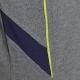 Détail téxtile du Polo Honda Paddock Navy Gris