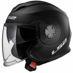 Casque LS2 OF570 Verso Solid Noir Mat