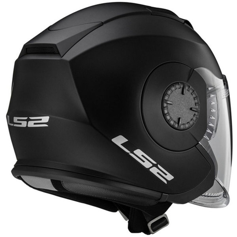 casque ls2 of570 verso solid noir mat casque jet scooter et moto japauto accessoires. Black Bedroom Furniture Sets. Home Design Ideas