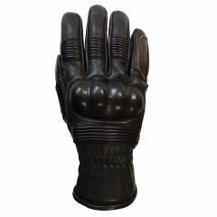 Intérieur des gants Helstons Monza Noir Marron