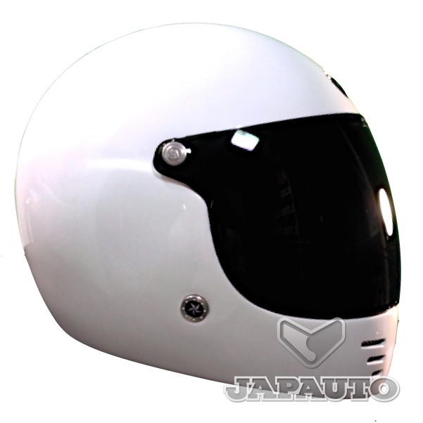 casque int gral gpa pure blanc japauto accessoires equipement pilote pour moto et scooter. Black Bedroom Furniture Sets. Home Design Ideas