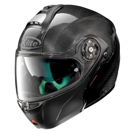 casque nolan carbon x1004 dyad noir japauto accessoires equipement pilote pour moto et scooter. Black Bedroom Furniture Sets. Home Design Ideas