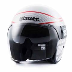 Casque Blauer Pod Graphic B Blanc/Rouge