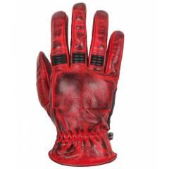 Gants Helstons Velvet été Rouge/Noir