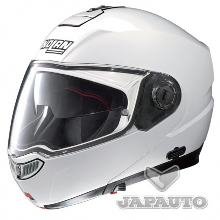 casque modulable nolan n104 evo blanc japauto accessoires equipement pilote pour moto et scooter. Black Bedroom Furniture Sets. Home Design Ideas