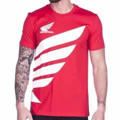 T-shirt Honda Big Wing Rouge