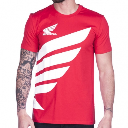 T-shirt Honda Big Wing Rouge