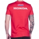 T-shirt Honda Big Wing Rouge de dos