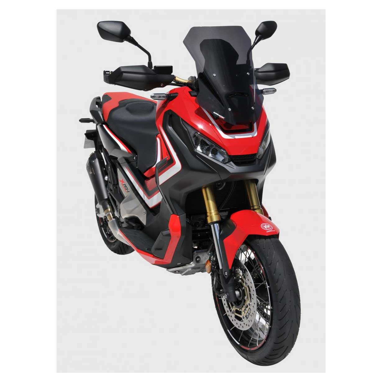 bulle ermax touring honda x adv 2017 noir clair accessoires scooter honda japauto. Black Bedroom Furniture Sets. Home Design Ideas